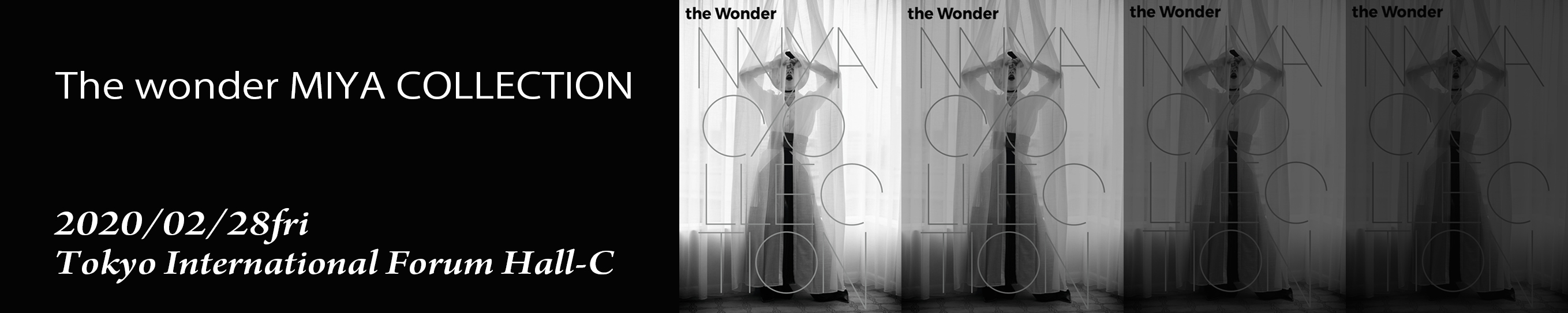 The wonder MIYA COLLECTIONバナー