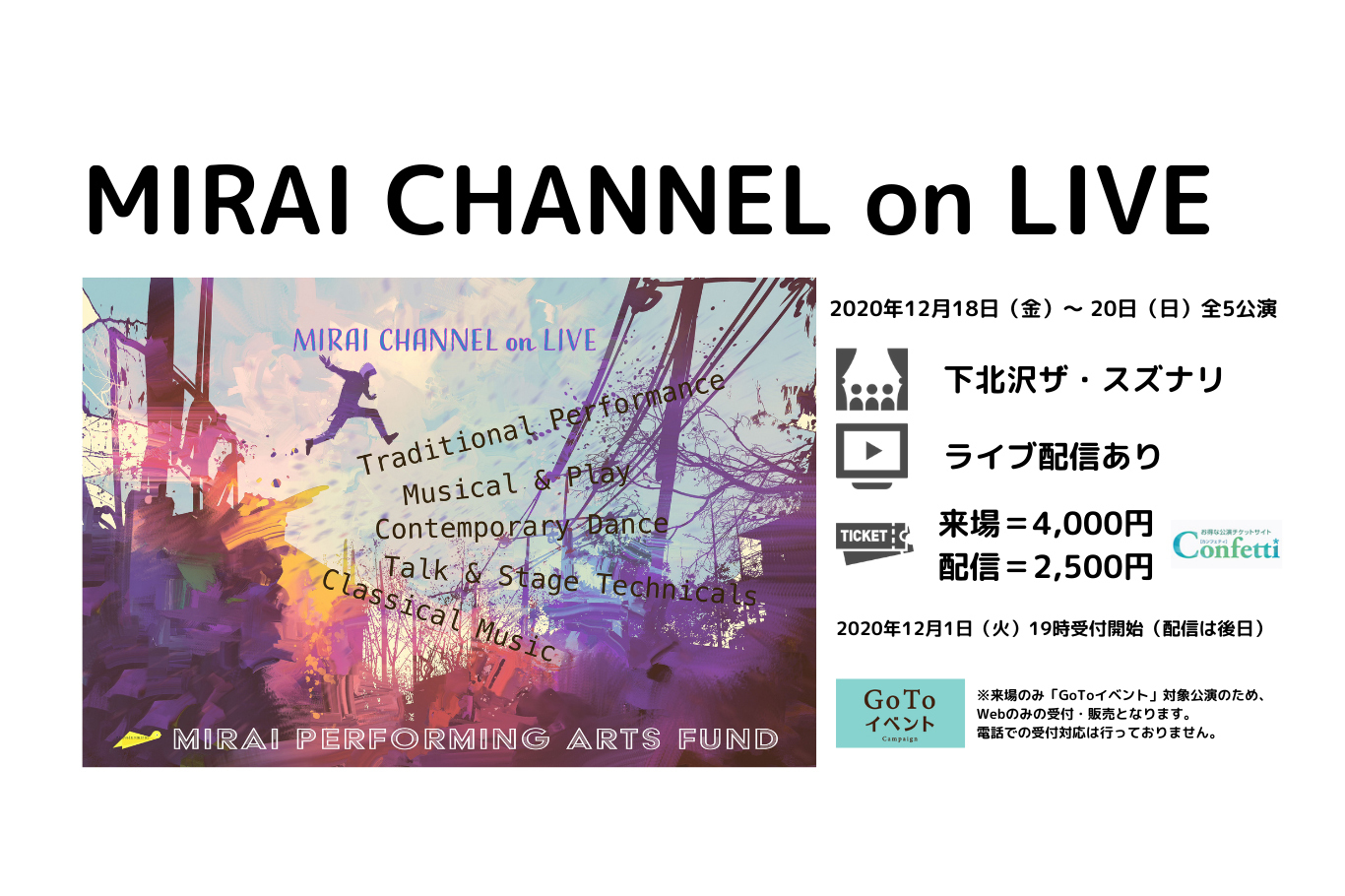 Mirai CHANNEL on LIVE